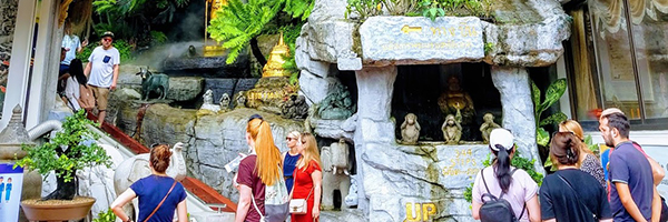 バンコク観光【ワットサケート】